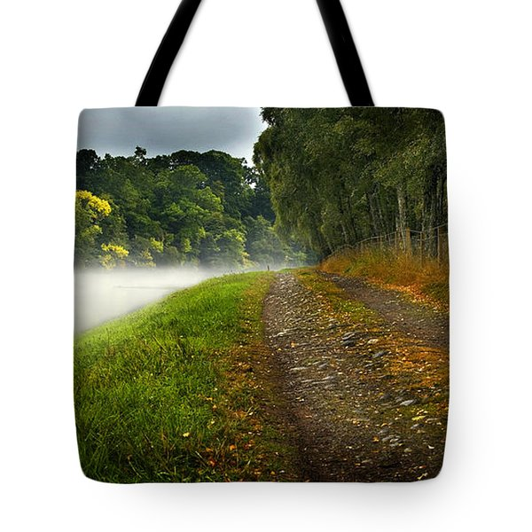 Fishing The River Beauly Tote Bag