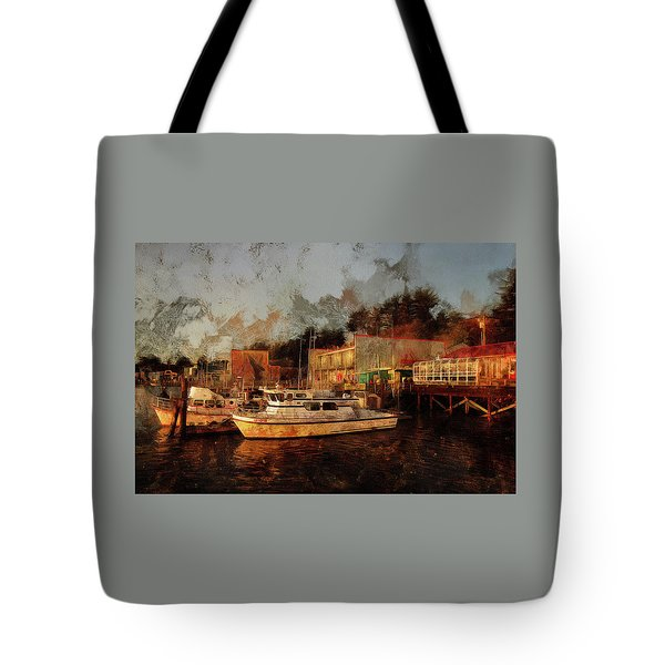 Tote Bag featuring the photograph Fishing Trips Daily by Thom Zehrfeld