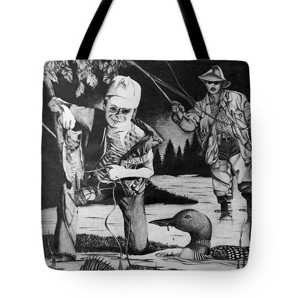 Fishing Vacation Tote Bag