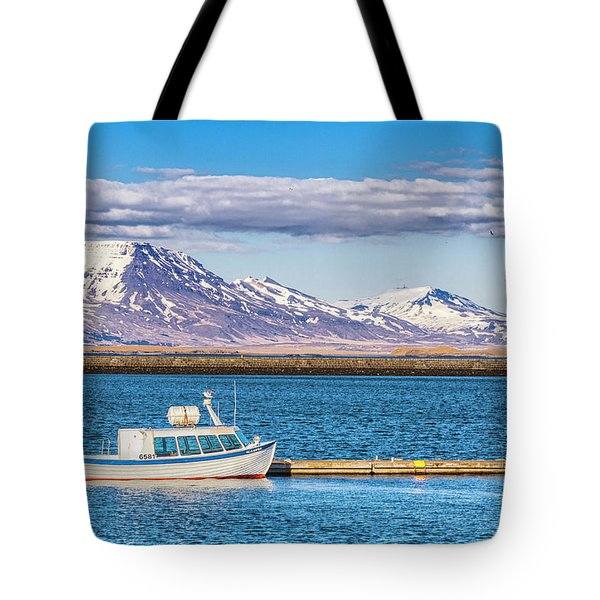 Fishing Tote Bag by Wade Courtney