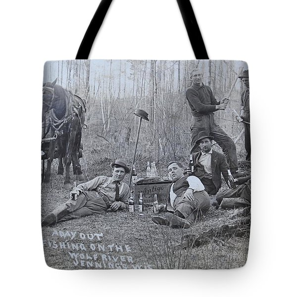 Fishing With The Boys Tote Bag