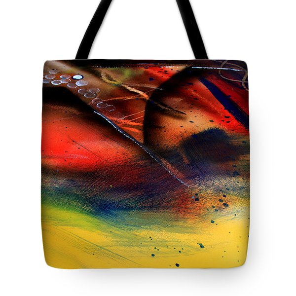 Fishtail Abstract Tote Bag