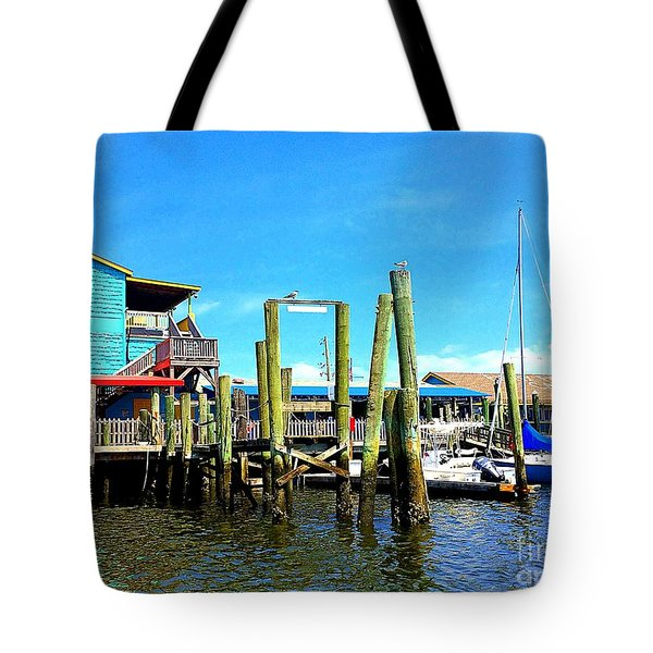 Fishy Fishy Waterside Tote Bag