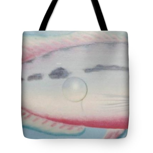 Fishy In Ocean Tote Bag