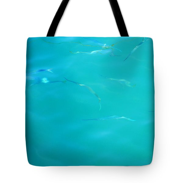 Fishy Sea Tote Bag by Debbie Oppermann