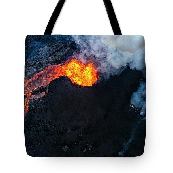 Fissure 8 Cinder Cone Tote Bag