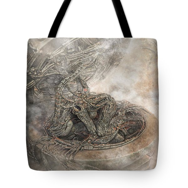 Fit Into The System Tote Bag