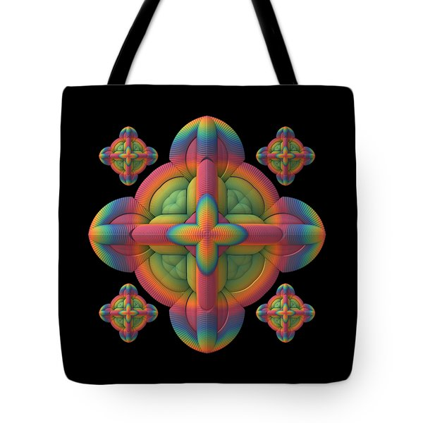 Tote Bag featuring the digital art Fit To A Tee by Lyle Hatch