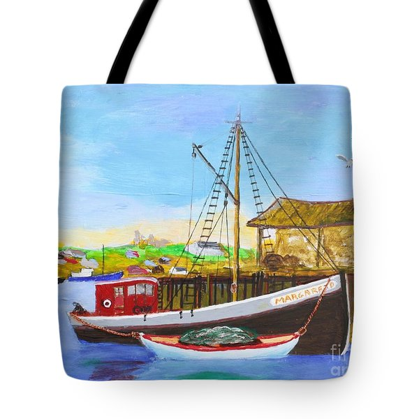 Fitting Out For Seining Tote Bag