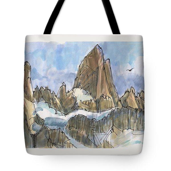 Fitz Roy, Patagonia Tote Bag