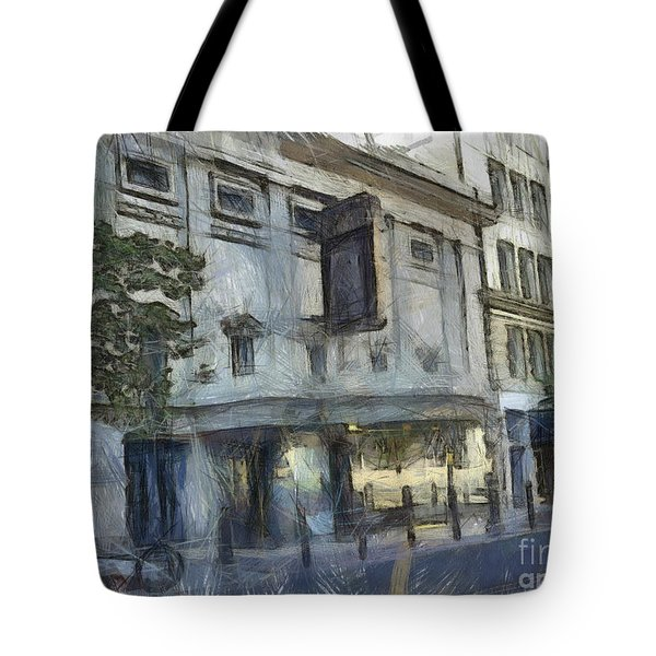Fitzgerald Tote Bag by Paulette B Wright