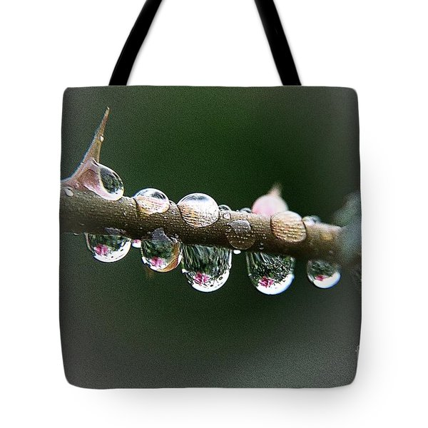 Five Droplets Tote Bag