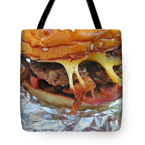 Five Guys Cheeseburger Tote Bag