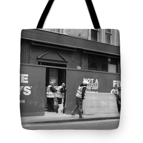 Five Guys Tote Bag