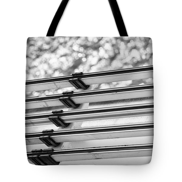 Tote Bag featuring the photograph Five Lines Over The Deep by Christi Kraft