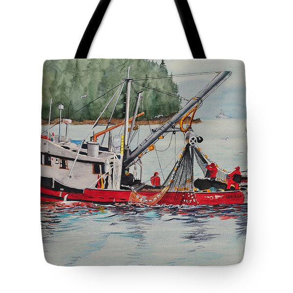 Five Miles Out Of Valdez Tote Bag