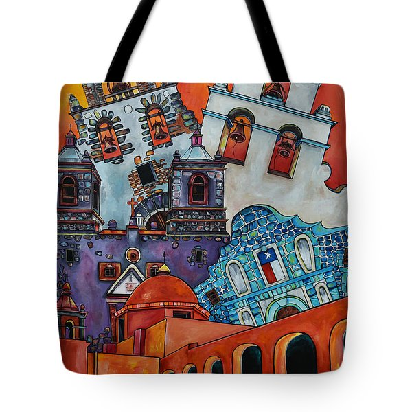 Five Missions Tote Bag