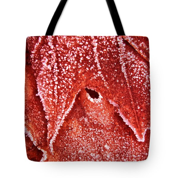 Five O'clock Frost Tote Bag by Gwyn Newcombe