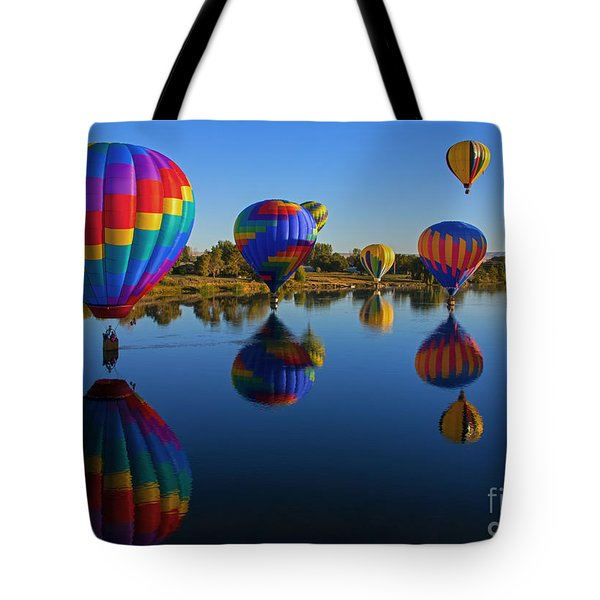Five On The Water Tote Bag
