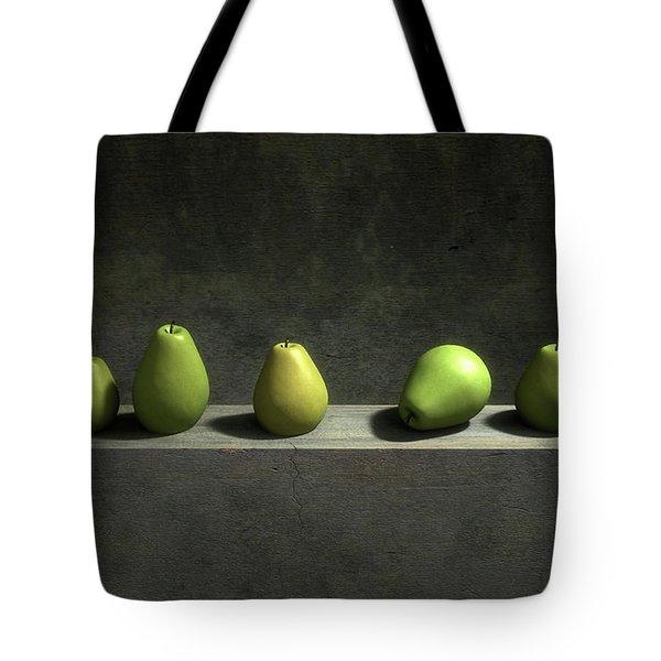 Five Pears Tote Bag