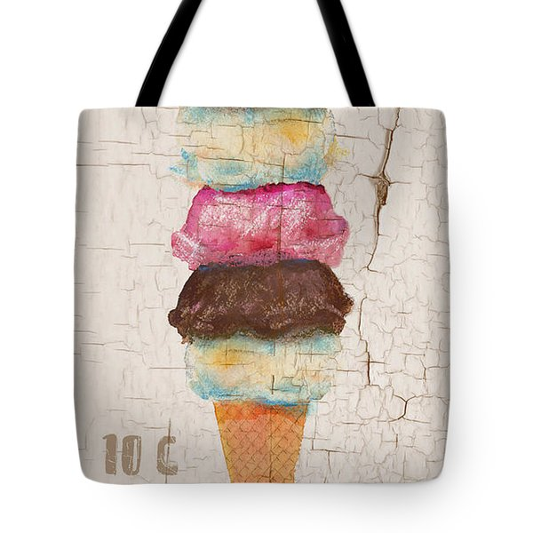 Five Scoops Tote Bag