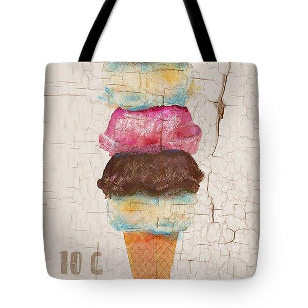 Five Scoops Tote Bag by Arline Wagner