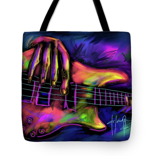 Five String Bass Tote Bag