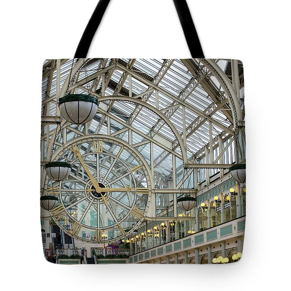 Five To Three - At St. Stephens Green Shopping Centre In Dublin Tote Bag