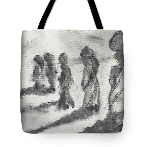 Five Women Immigrants Tote Bag