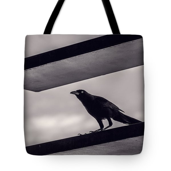 Tote Bag featuring the photograph Fixation by Laura Roberts