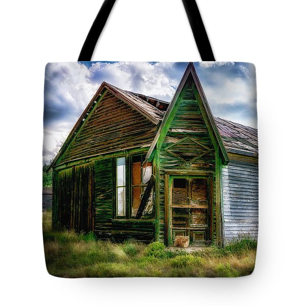 Tote Bag featuring the photograph Fixer Upper by Bitter Buffalo Photography