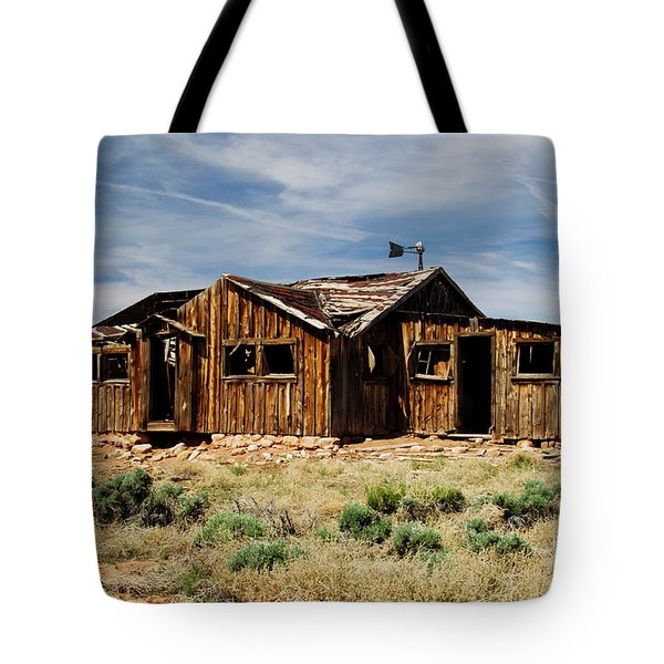 Fixer-upper Tote Bag by Kathy McClure
