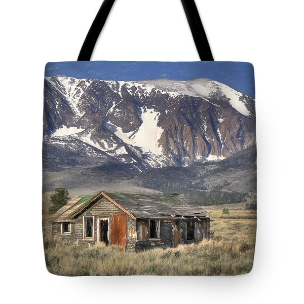 Fixer Upper With A View Tote Bag by Donna Kennedy