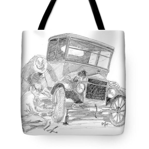 Fixin' The T Tote Bag