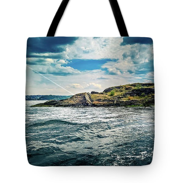 Fjord From The Ferry Tote Bag