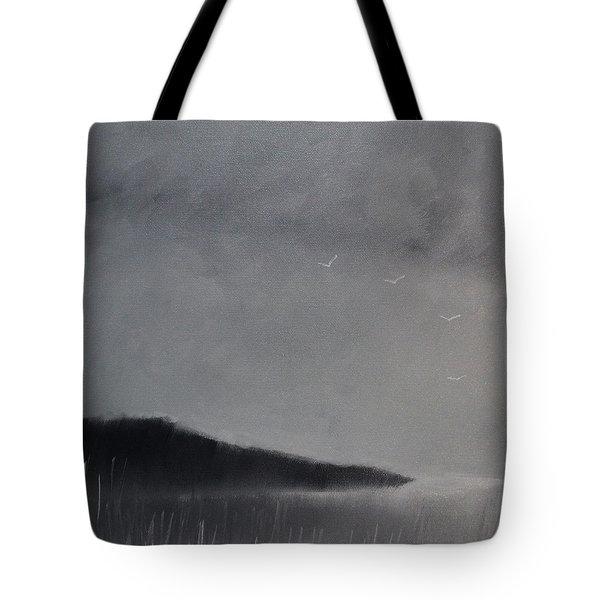 Fjord Landscape Tote Bag