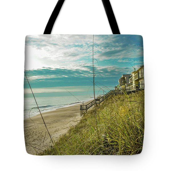 St Aug Beach Tote Bag