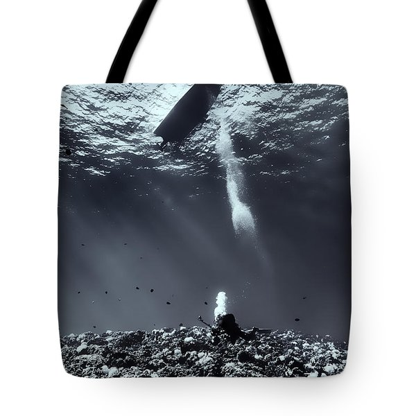 Fla-151028-nd800e-107-bw-selenium Tote Bag