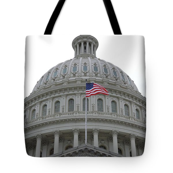 Flag And Dome Tote Bag