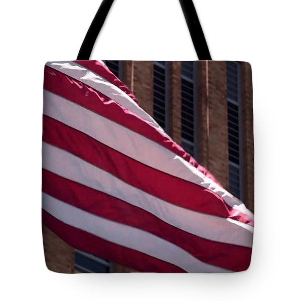 Flag Courtship Tote Bag
