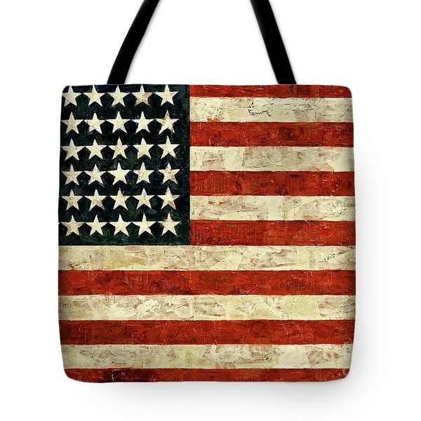 Flag, Jasper Johns, 1954 Tote Bag