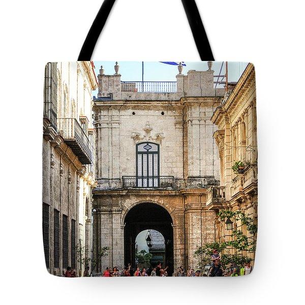 Flag Of Cuba Tote Bag