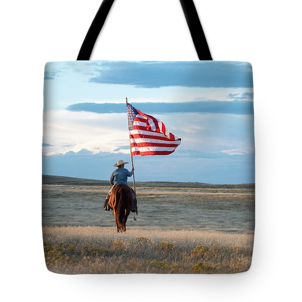 Flag Of Freedom Tote Bag