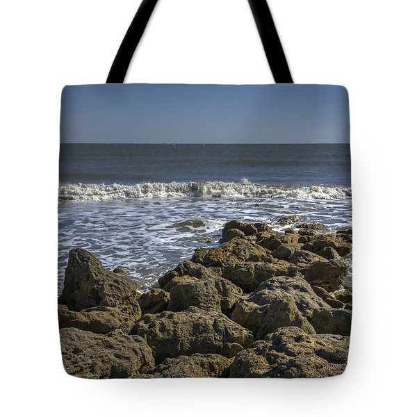 Flagler Beach 3 Tote Bag by Steve Gravano