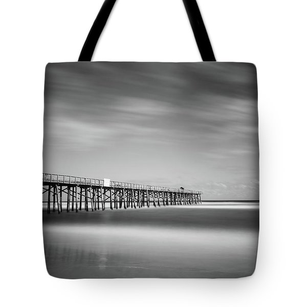 Flagler Beach Pier Tote Bag