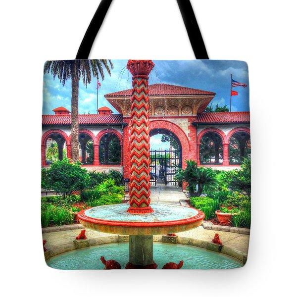 Flagler College Fountain Tote Bag