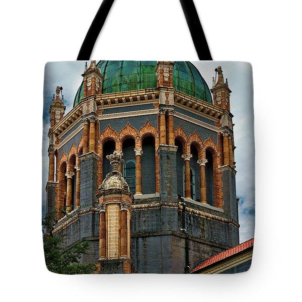 Flagler Memorial Presbyterian Church 3 Tote Bag by Christopher Holmes