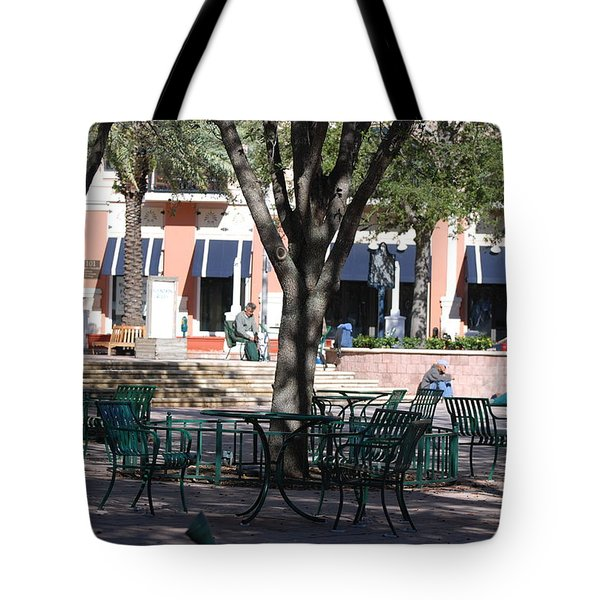 Flagler Park Tote Bag by Rob Hans