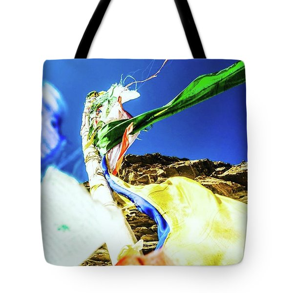 Flags Of Many Colours Tote Bag