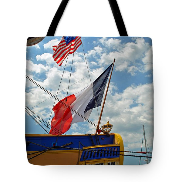 Flags Of The Stern Tote Bag